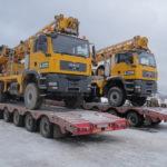 Автомобильная перевозка негабаритных грузов